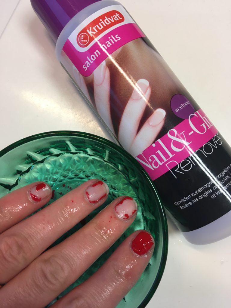 Kruidvat Nail & Glue remover